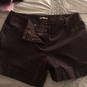 Express Women's black shorts